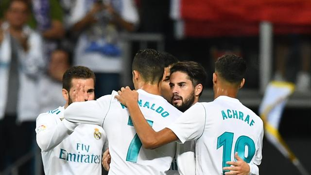 Real finally win at home thanks to Isco double
