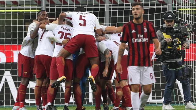 Roma-Milan, Totti: