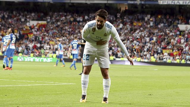 LaLiga, Real Madrid-Espanyol: ¡Que viva Isco!
