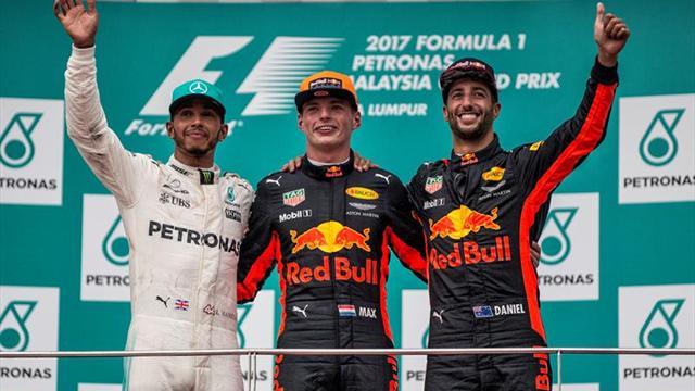 Verstappen agota la racha de Hamilton