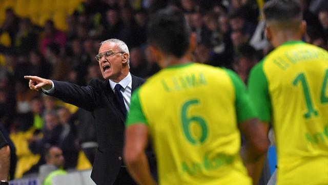 «Нант» Раньери забил 6 голов в 8 матчах Лиги 1 и идет четвертым