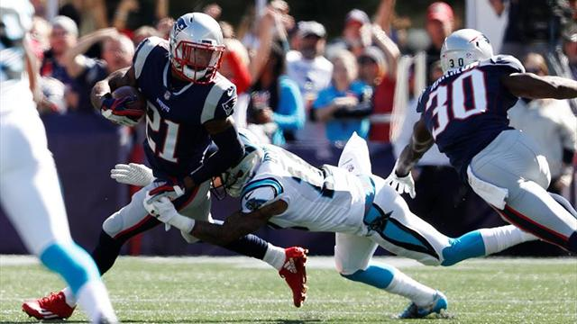 Panthers vence 33-30 a Patriots en el último segundo