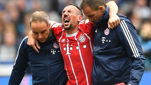 Bayern, rottura legamento crociato del ginocchio sinistro per Ribery: per ora niente operazione