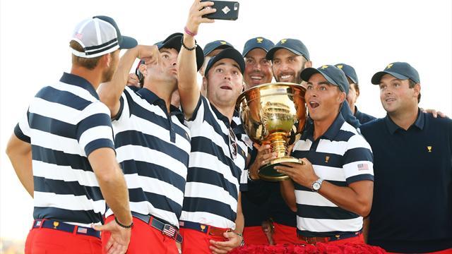 Les Etats-Unis s'offrent une 10e Presidents Cup (en attendant la Ryder Cup en France)