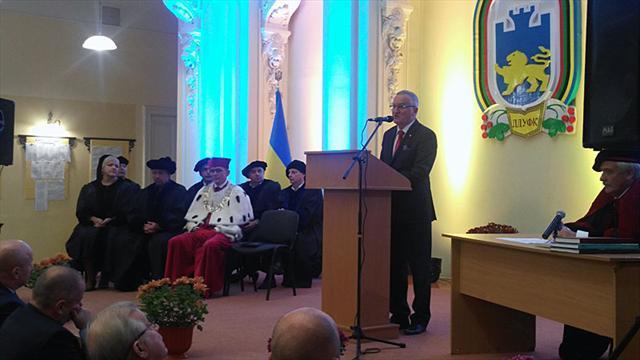 FISU Vice-President awarded Doctor Honoris Causa