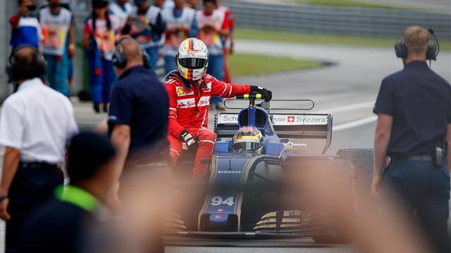 Vettel peut-être pénalisé à Suzuka