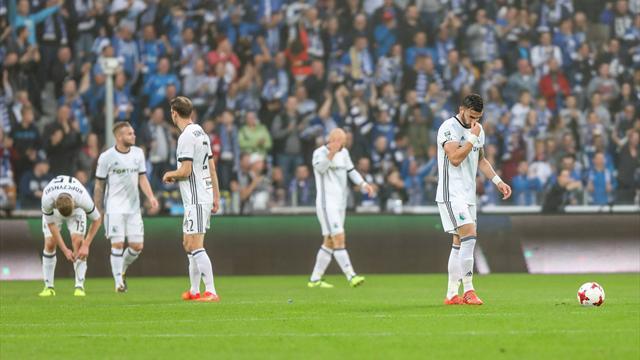 Фанаты «Легии» избили футболистов после поражения в главном матче