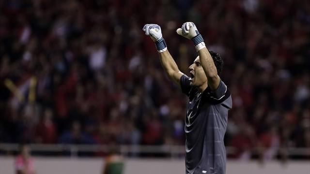 Costa Rica mira de cerca el Mundial amparada en Keylor Navas y Bryan Ruiz