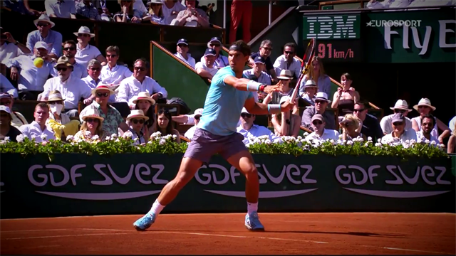 Sports Explainer: Rafael Nadal's forehand, the ultimate weapon on clay