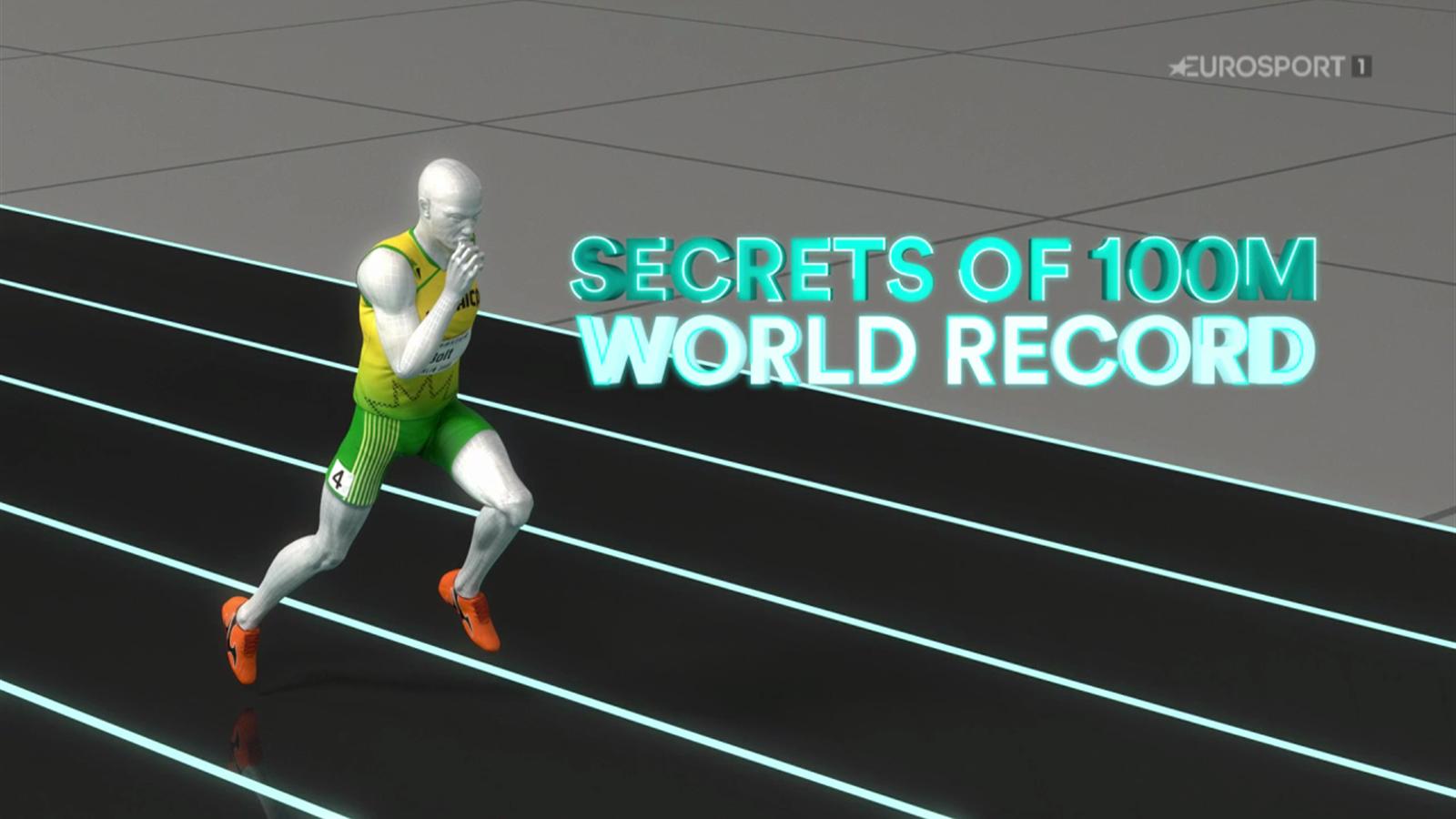 VIDEO - Sports Explainer: How Usain Bolt smashed the 100m world record - Video Eurosport