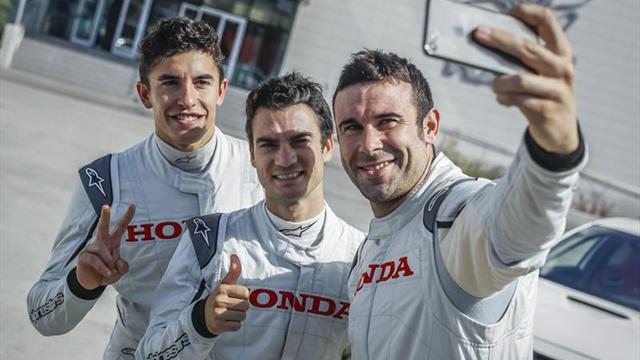 Márquez no piensa que Rossi pudiese fingir una mayor lesión