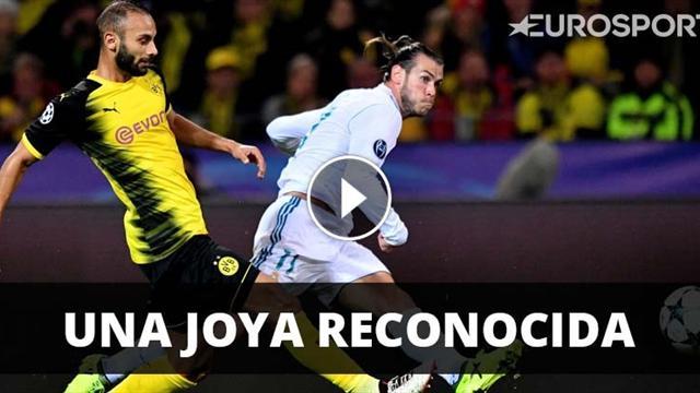 El golazo de Bale en Dortmund, el mejor de la jornada de Champions