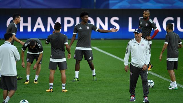 Kicker: некоторые игроки «Баварии» дополнительно тренировались втайне от Анчелотти