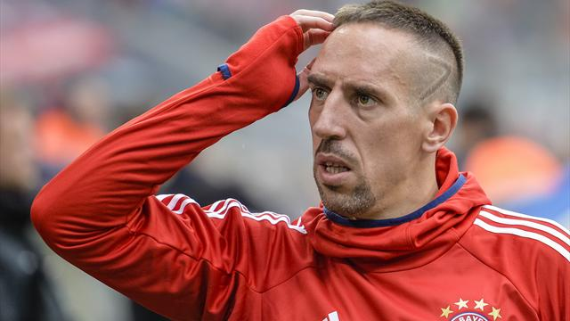 Ribery back in training after injury