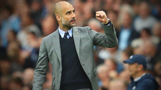 Guardiola dédie la victoire de Manchester City aux indépendantistes incarcérés