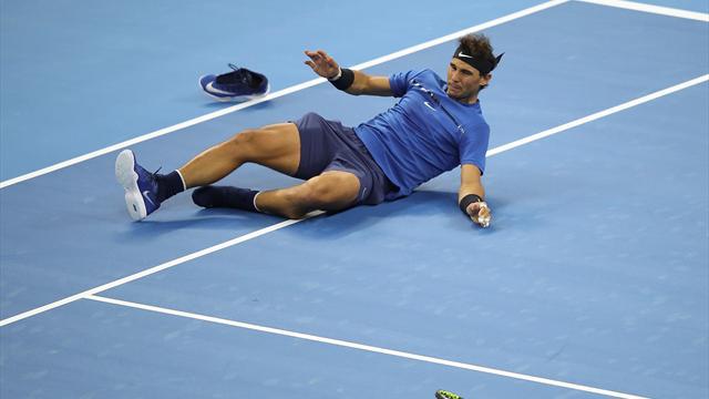 Las caídas de Nadal: La consecuencia del juego agresivo del campeón español