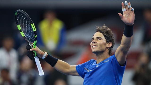 Dos puntos clave, una anécdota insólita y la suerte del lado de Rafa Nadal