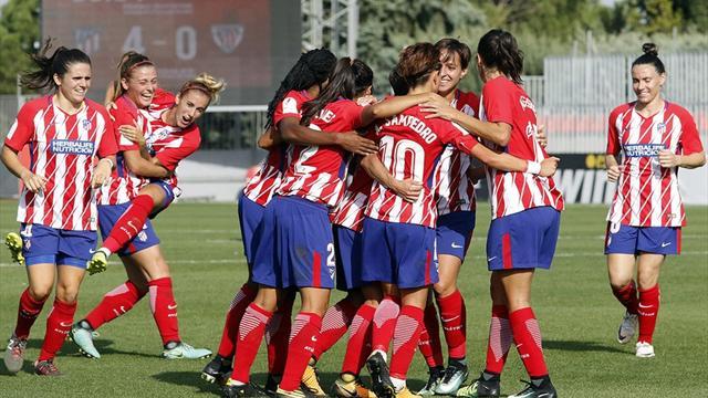 Champions femenina: Atlético y Barça debutan frente a rivales dispares