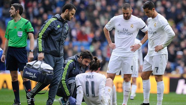 Le Real peut souffler, Bale reviendra dans deux semaines
