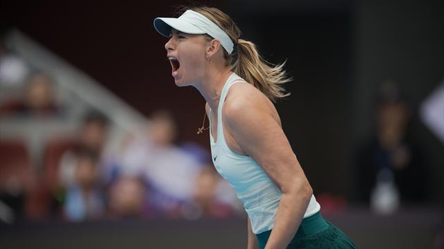 La rinascita di Maria Sharapova: sorrisi, pianti e un titolo dopo 15 mesi da incubo