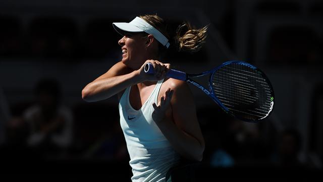 Sharapova ilk kez yarı finalde