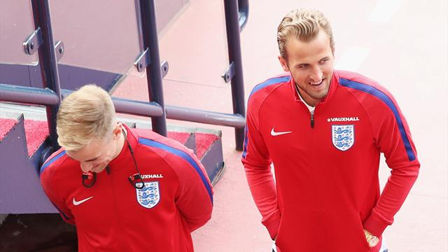 England lucky to have 'hot' Kane, says Hart