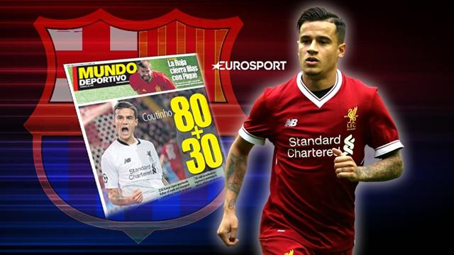 Euro Papers: Barcelona prepare new Coutinho onslaught for January