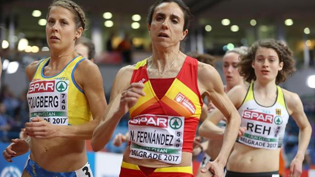 Carmen Valero y Nuria Fernández participan en los 10 km femeninos de Madrid