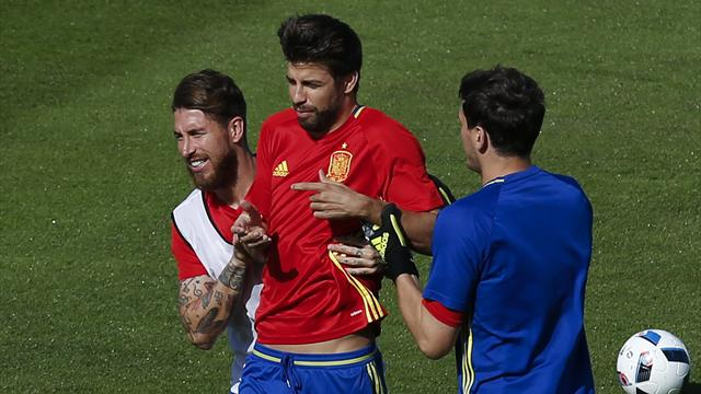 It's not just Pique and Ramos: A history of feuding team-mates