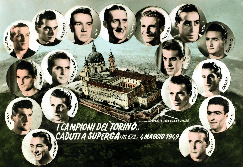 Futbolistas del Torino fallecidos en el accidente de avión de Superga