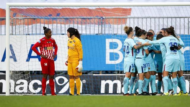 0-4. El Barça golea y encarrila su pase a octavos en Noruega