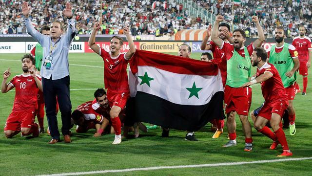 La Syrie peut toujours rêver de la Coupe du Monde