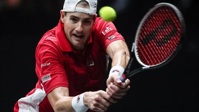 Isner arrolla al argentino Mayer y podría ser el rival de Nadal en cuartos
