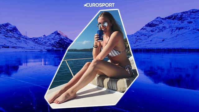 15 солнечных фото красотки, которая поздравит Айкела с новым контрактом