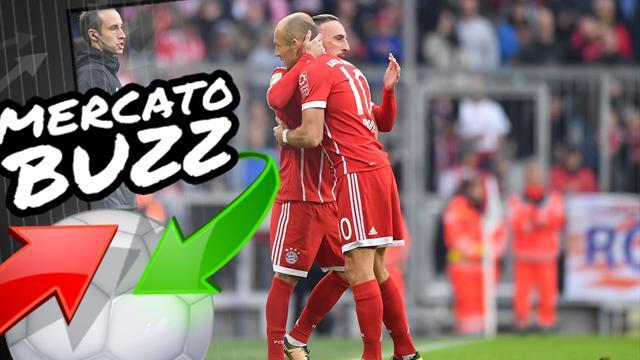 Et si Ribéry entraînait Robben dans l'un de ses anciens clubs ?