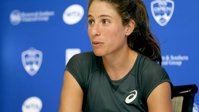 Konta still not confirmed for WTA Finals as Garcia wins again