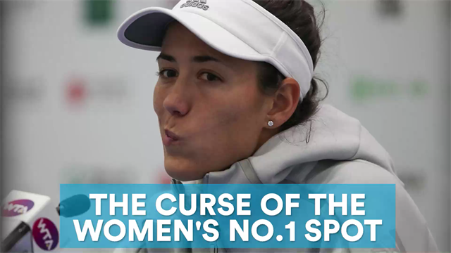 Can Garbine Muguruza halt the women's No.1 curse?