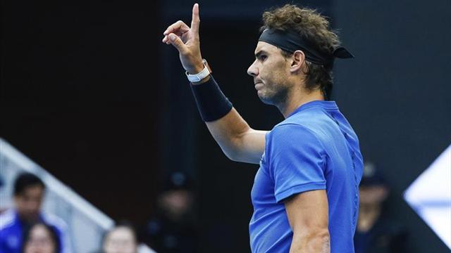 Nadal se cita con Isner en cuartos, Pliskova y Wozniacki dicen adiós a Pekín