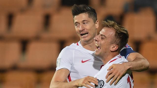 Левандовский установил рекорд по голам в отборах Европы и стал лучшим снайпером Польши