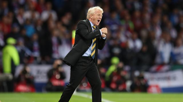 """I genuinely knew we would score"", says Strachan"