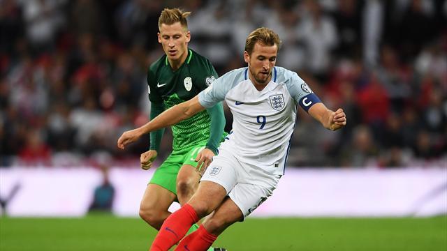 La notte di Kane: a Wembley regala vittoria e qualificazione ai Mondiali, Slovenia ko al 94'