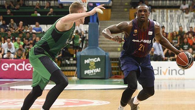 Liga ACB, Joventut-Barcelona: Diez seguidas en Badalona (72-74)