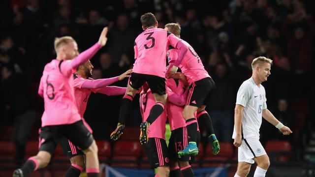 Late Skrtel own-goal sends Scotland second