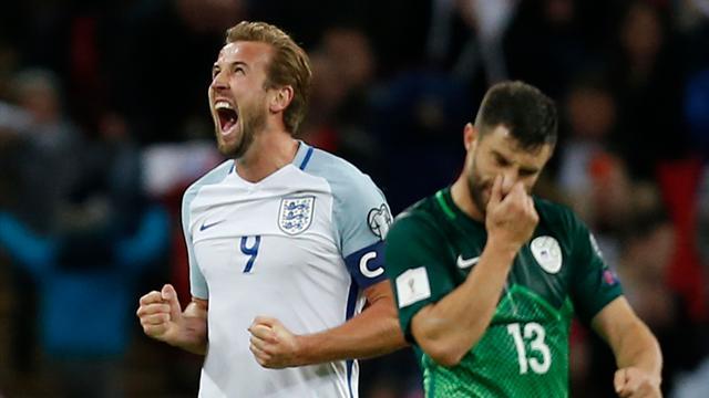 Великобритания переиграла Словению изавоевала путевку наЧМ