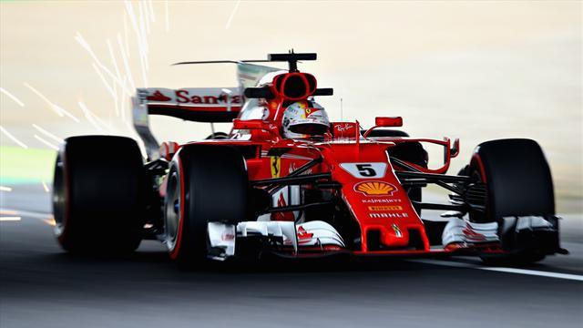 Vettel a abandonné à cause d'une bougie