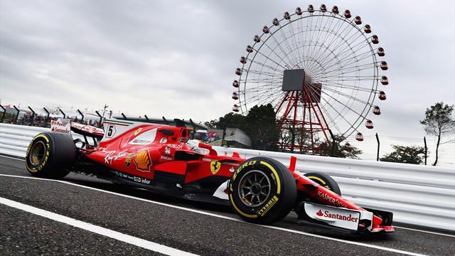 Prove libere 1: è subito super Sebastian Vettel! Il tedesco precede Hamilton e Ricciardo