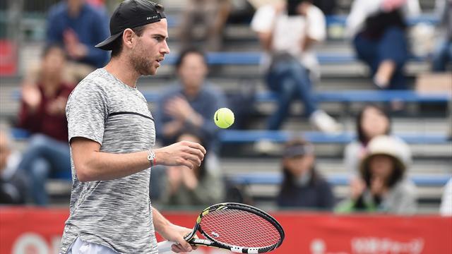 Tennis - Trop solide pour Mannarino, Goffin s'impose à Tokyo
