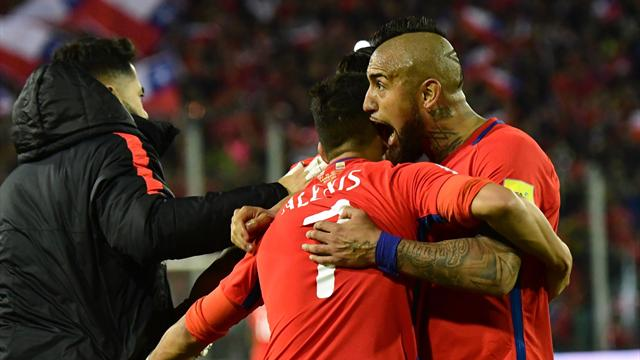 Round-up: Chile beat Ecuador as six-nation battle heads to final chapter