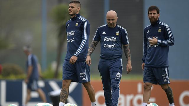 Sampaoli justifie la non sélection d'Icardi