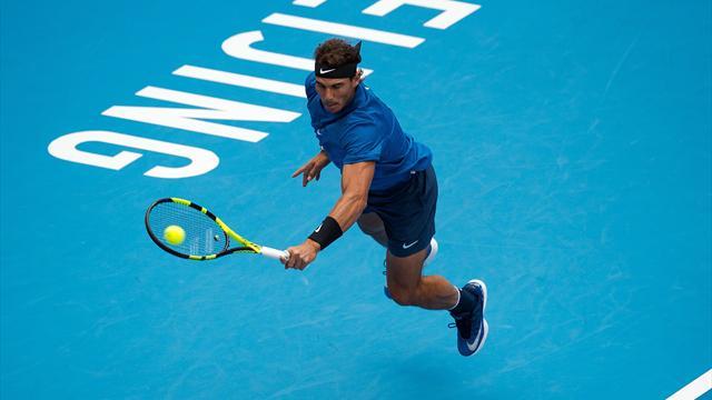ATP Pekín, Nadal-Isner: Doblar el espinazo a un gigante (6-4 y 7-6-0- )